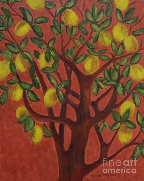 Painting - Make Lemon Aid by Jeanie Watson