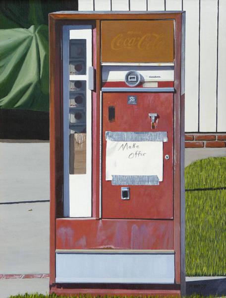 Street Machine Wall Art - Painting - Make Offer by Michael Ward