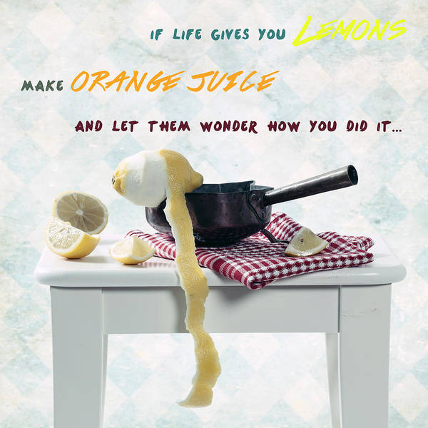 Peel Photograph - Make Some Orange Juice by Joana Kruse