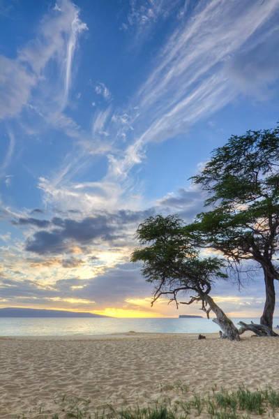 Makena Beach Maui Hawaii Sunset 2 Art Print