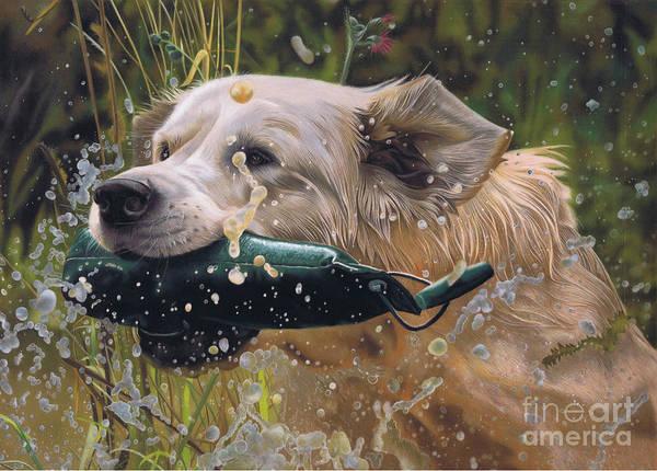 Pastel - Making A Splash by Karie-Ann Cooper