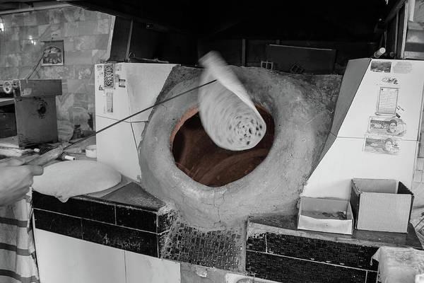 Cinnamon Buns Photograph - Making Bread by Mao Lopez