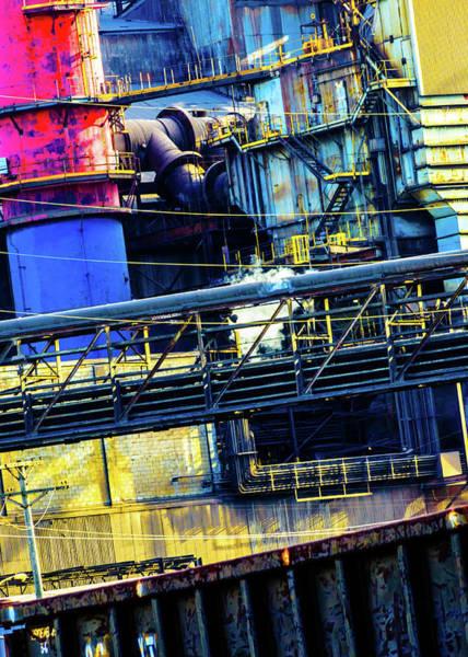 Photograph - Making Steel by Stewart Helberg