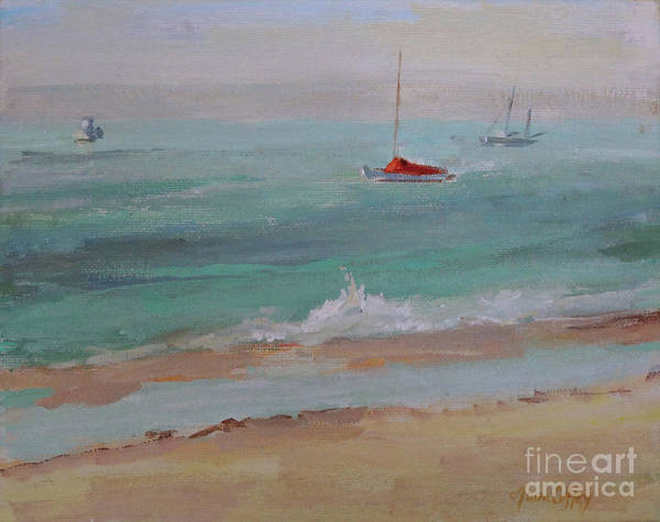 Painting - Making Waves by Joan Coffey