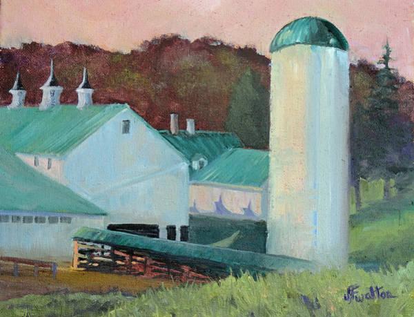 Painting - Malabar Farm State Park by Judy Fischer Walton