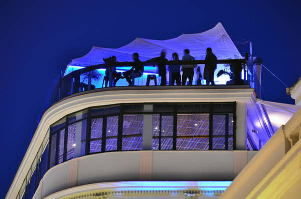 Photograph - Malaga - Costa Del Sol - Andalucia - Spain - Rooftop Bar by Carlos Alkmin