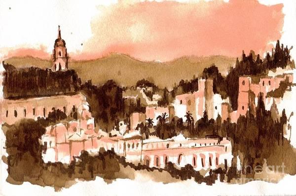 Painting - Malaga by Karina Plachetka
