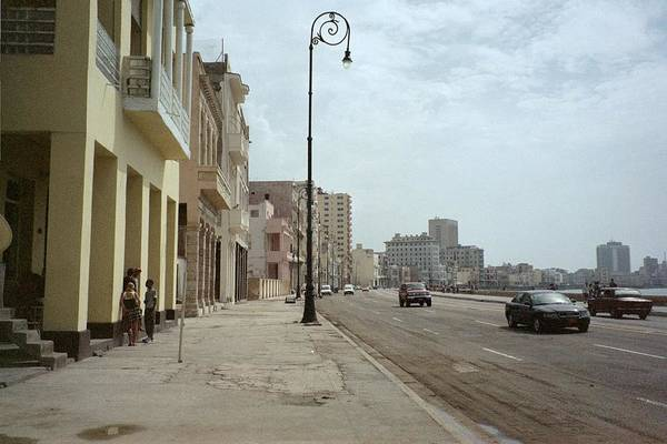 Photograph - Malecon En Havana by Quin Sweetman