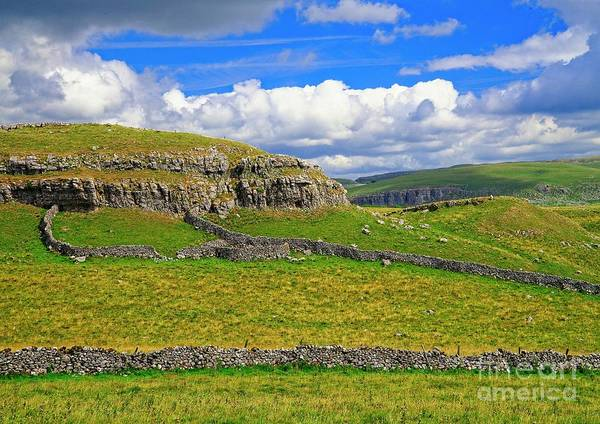 Photograph - Malham Cove Landscape by Martyn Arnold