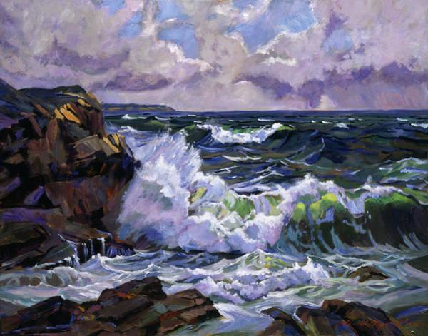 Painting - Malibu Coast by David Lloyd Glover