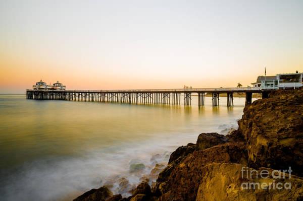 Malibu Photograph - Malibu Pier by Art K