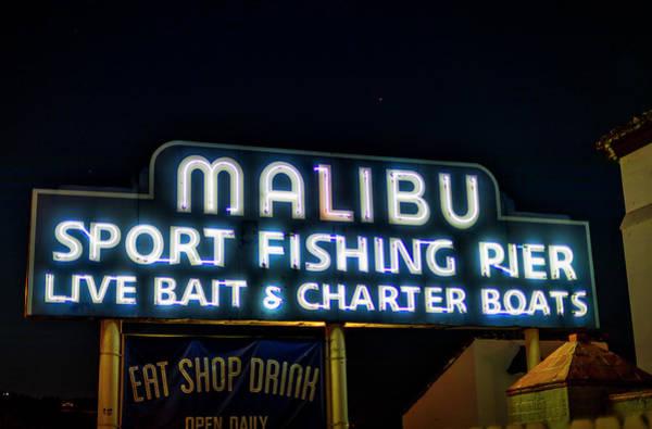 Photograph - Malibu Pier by Gene Parks