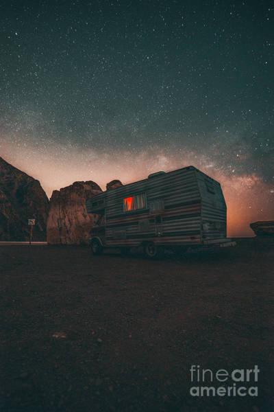 Trailer Photograph - Malibu Trailer Park by Art K