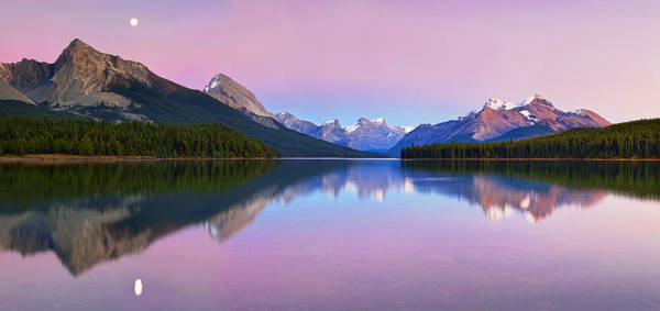 Wall Art - Photograph - Maligne Lake by Yan Zhang