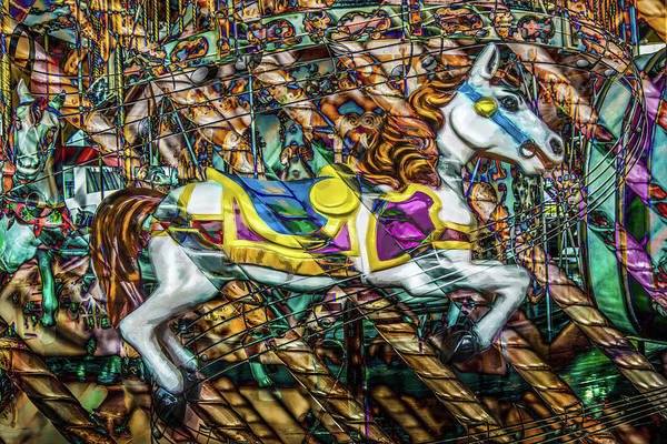 Photograph - Mall Of Asia Carousel Horse by Michael Arend