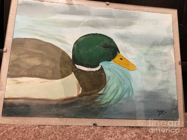 Painting - Mallard by Donald Paczynski