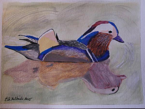 Water Foul Painting - Mallard Duck by Elizabeth Kilbride
