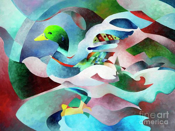 Painting - Mallard by Sally Trace