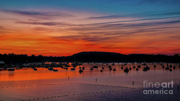 Photograph - Malletts Bay Sunset by Scenic Vermont Photography