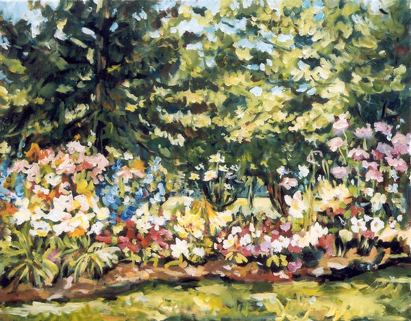Mallquist's Garden Art Print
