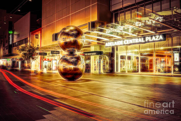 Photograph - Malls Balls by Ray Warren