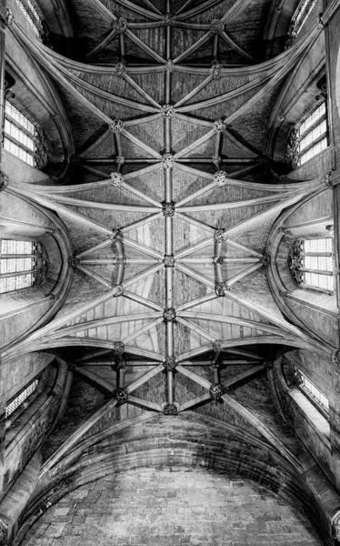 Photograph - Malmesbury Abbey Nave by Clare Bambers