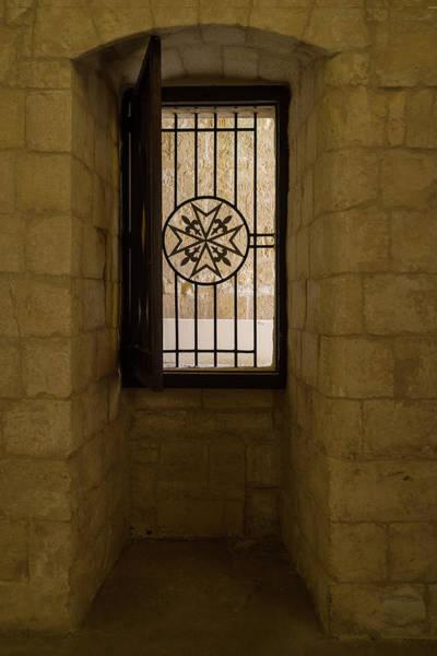 Photograph - Maltese Cross Window - by Georgia Mizuleva