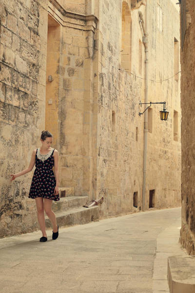 Atmospheric Photograph - Maltese Streets by Cambion Art