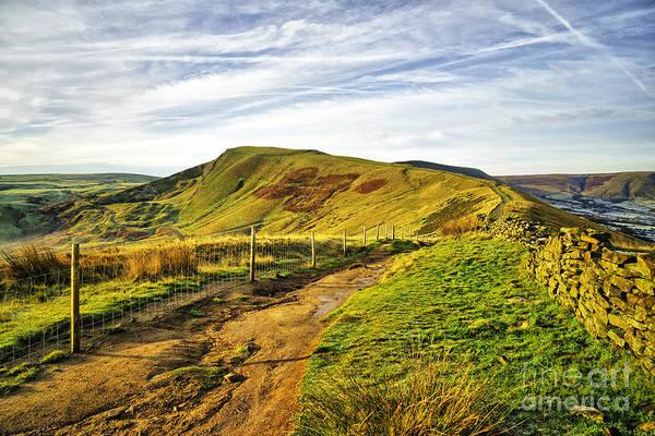 Peak District National Park Photograph - Mam Tor by Smart Aviation
