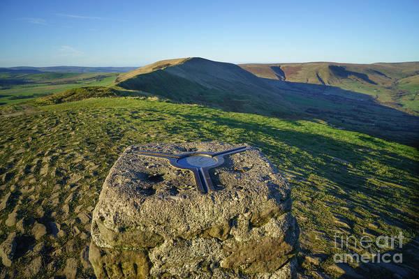 Peak Wall Art - Photograph - Mam Tor Views by Smart Aviation