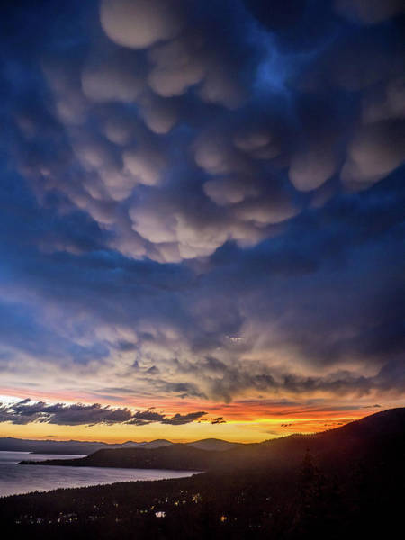 Photograph - Mammatus by Martin Gollery