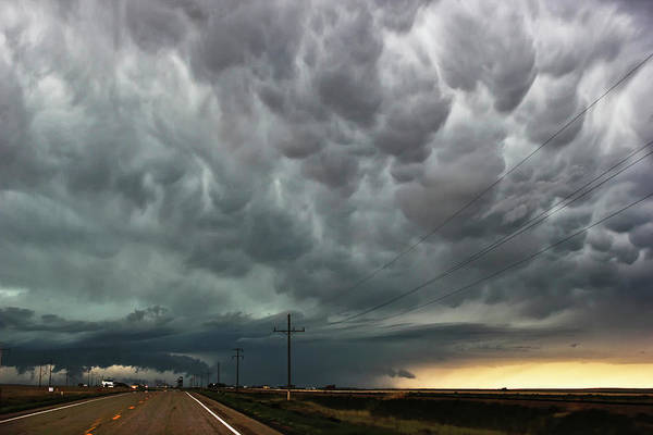 Photograph - Mammatus Over Montata by Ryan Crouse