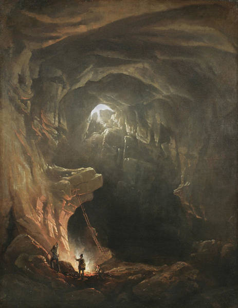 Wall Art - Painting - Mammoth Cave by Francis