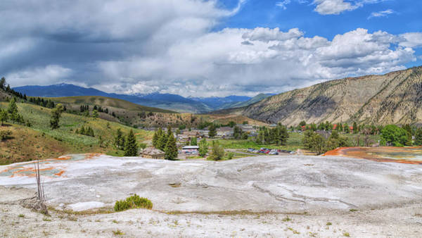 Photograph - Mammoth Hot Springs by John M Bailey
