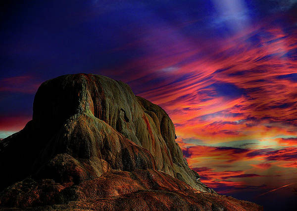 Mammoth Sunset Art Print