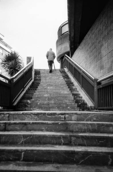 Photograph - Man And Stairs by Nacho Vega