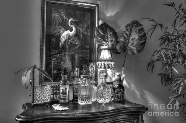 Photograph - Man Cave Bar by Dale Powell