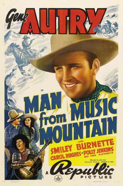 Heroine Photograph - Man From Music Mountain, Gene Autry by Everett