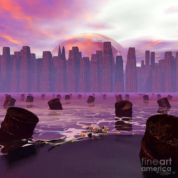 Digital Art - Man Made by Walter Neal
