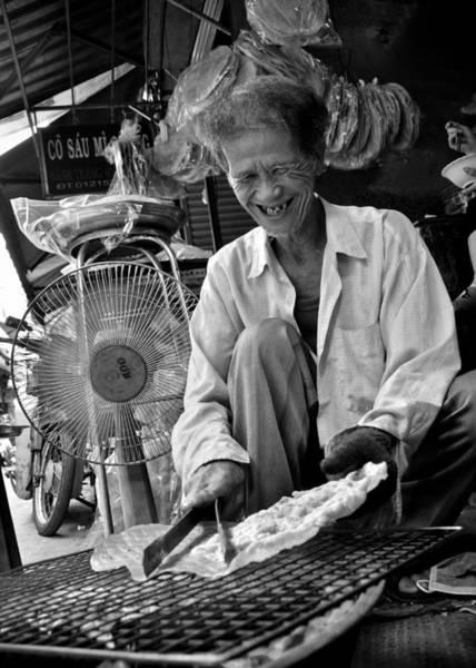 Photograph - Man Old Fun by Tran Minh Quan