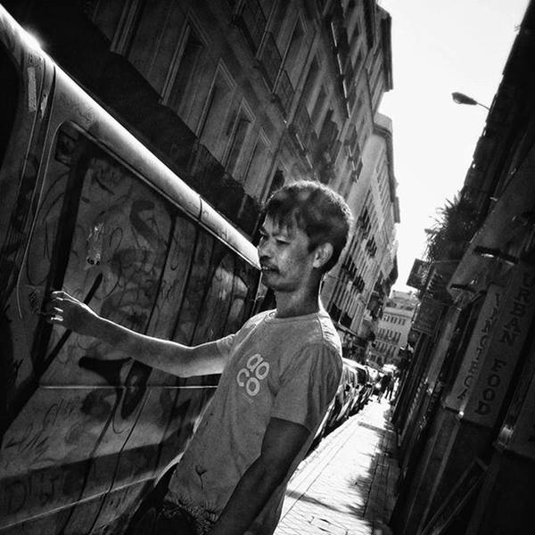 Wall Art - Photograph - #man #people #instapeople #streetpeople by Rafa Rivas