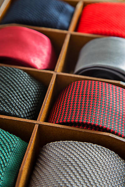 Clothing Design Mixed Media - Man Ties by Boyan Dimitrov