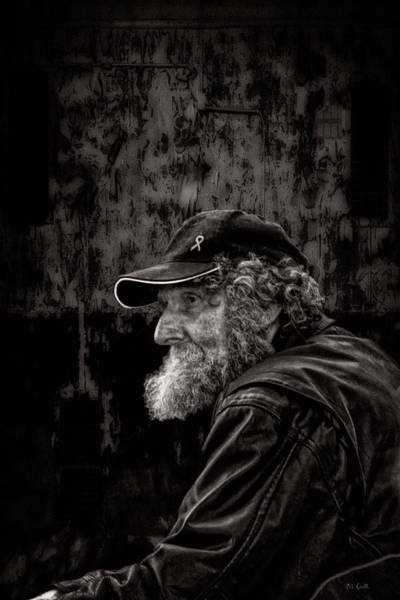 Male Photograph - Man With A Beard by Bob Orsillo