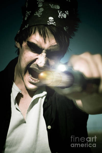 Photograph - Man With Gun by Jorgo Photography - Wall Art Gallery