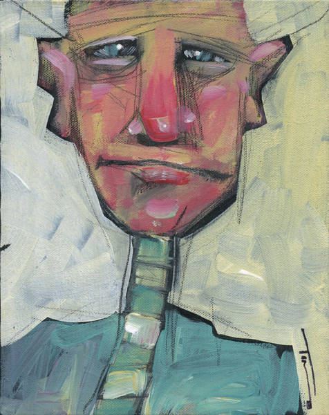 Painting - Man Without Hat by Tim Nyberg