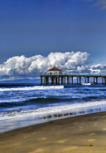 Photograph - Manahattan A Pier by Michael Hope