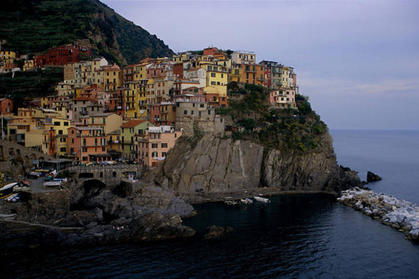 Wall Art - Photograph - Manarola  by Andrew Soundarajan