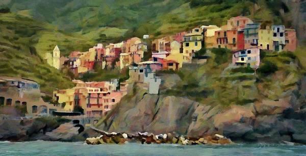 Painting - Manarola by Jeffrey Kolker