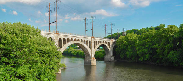 Photograph - Manayunk Bridge Panorama by Bill Cannon