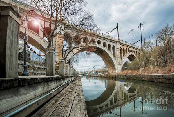 Wall Art - Photograph - Manayunk Bridge by Stacey Granger